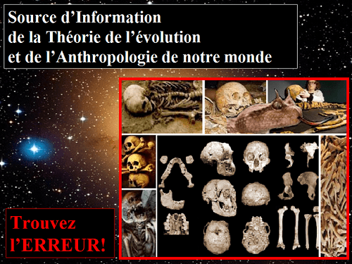 L'Univers TOTAL contre l'Anthropologie Macabre, l'Anthropologie du Diable!