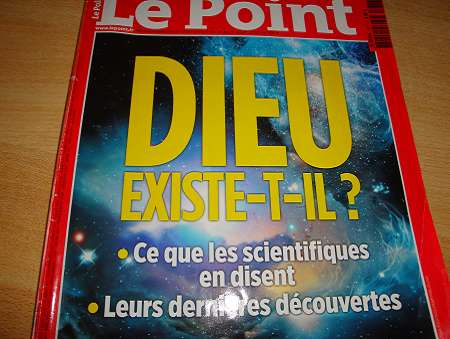 Le Point sur la question de l'existence de Dieu